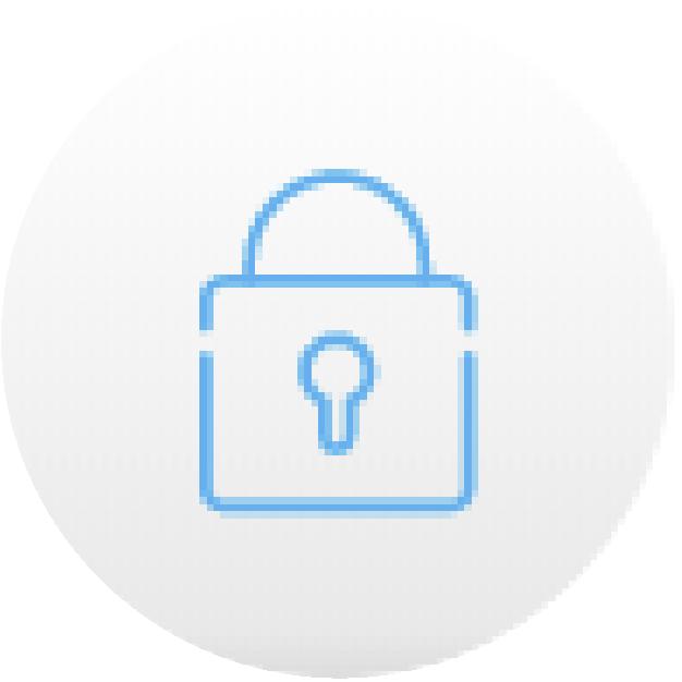 icono candado azul seguridad securex