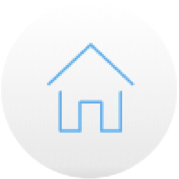icono casa azul comodidad securex