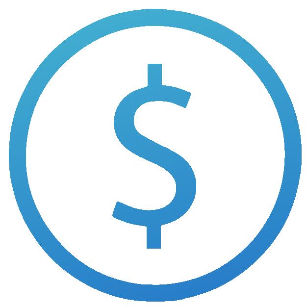 icono dolar azul cambio securex