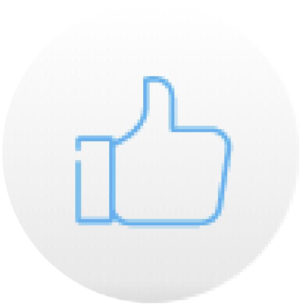 icono pulgar azul practico securex