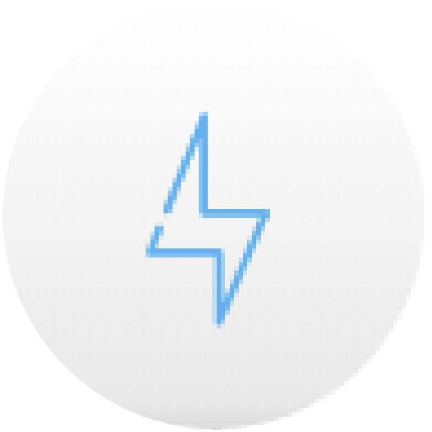 icono rayo agil sencillo securex
