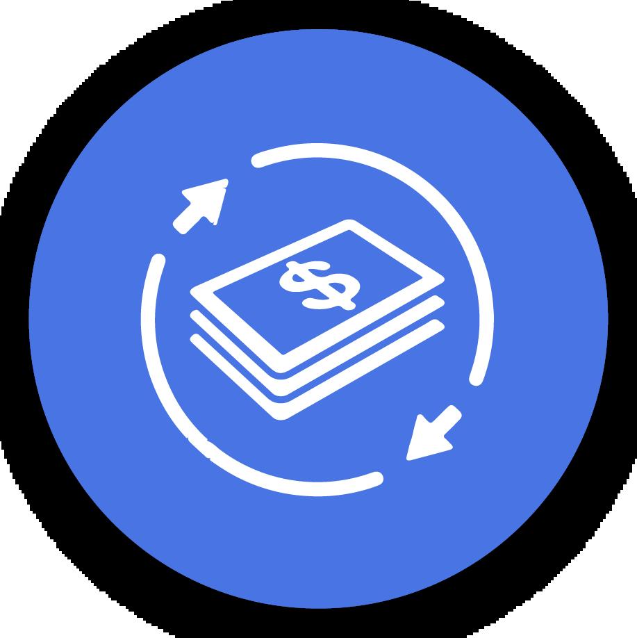 icono dolares pasos procesos securex