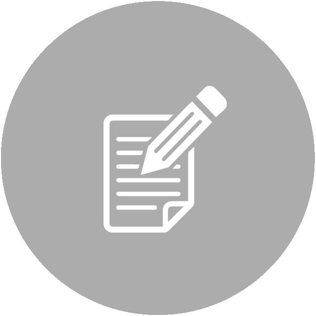 icono registra azul proceso securex