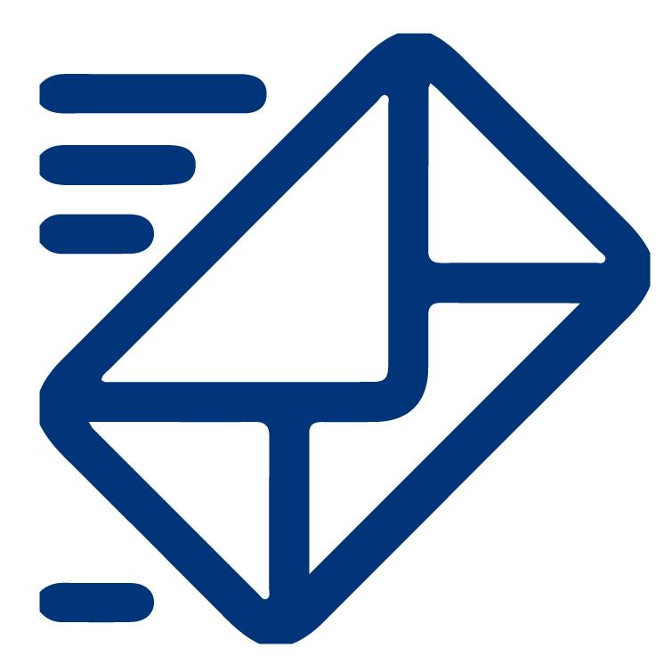 icono mail registro completo securex